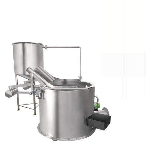 Circular Fryer Direct Heating Tilting System, Food Processing ...
