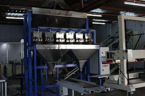 Automatic Cashew Nuts Filling Machine