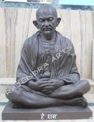 Marble Mahatma Gandhi Bust