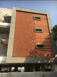 Designer Wooden Concrete Air Window