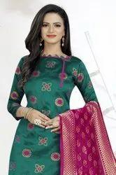 Banarasi Silk Dress Vol-1 Designer Banarasi Silk Dress Material Catalog
