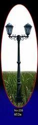 239 Aluminium Casting Pole Light
