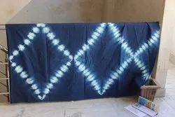 Tie Dye Cotton Indigo Fabric