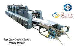 Four Color Computer Stationery Printing Machine