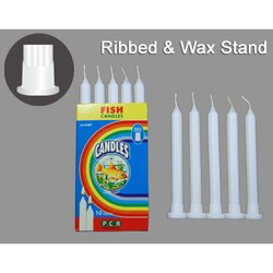 Ribbed Stand Candles