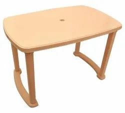 Rectangle Plastic Table, For Home