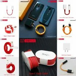 Micro USB TO USB Red OnePlus Dash Cable, For Mobile Phone, Cable Size: 100cm