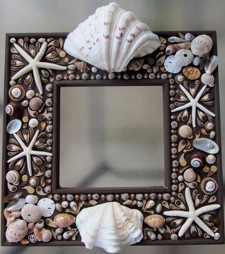 Shell Mirror Frame