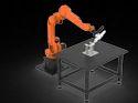 Robotic Fiber Laser Cutting Machine