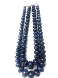 Natural African Sapphire Smooth Beads