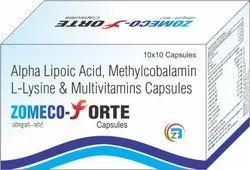 Methylcobalamin, Alpha Lipoic Acid, L-Lysine & Multivitamins Capsules
