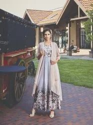 Festive Wear Western Gown with Full Flair