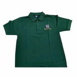Cotton Green Mens Collar Promotional T-Shirt