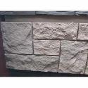 White And Beige Decorative Artificial Stone