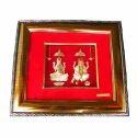 Gold Leaf Laxmi Ganesh