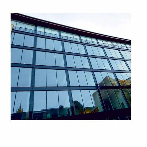 Kalco Semi Unitized Curtain Wall Double Glazed (K-4101-B) in