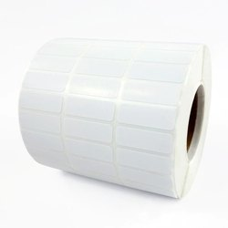 Plain Paper Roll Form Stickers