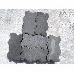 Ved Grey Uni Paver,Shape:Zigzag