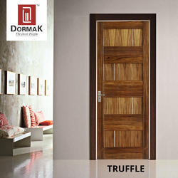 Truffle Veneer Decorative Wooden Door
