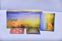 Cholecalciferol-60000 I. U ( Chewable Tablet In Orange Flavour)