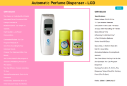 CMK B2 LCD Automatic Air Freshener Dispenser