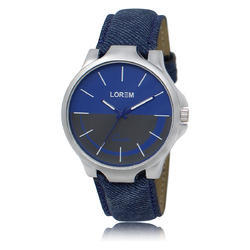 Lorem Blue Men's Designer Watch