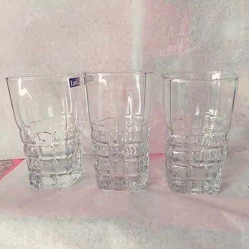 Transparent Glass Water Drinking Glasses