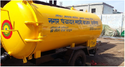 Trailer Chassis Mounted Sewer Suction Machine