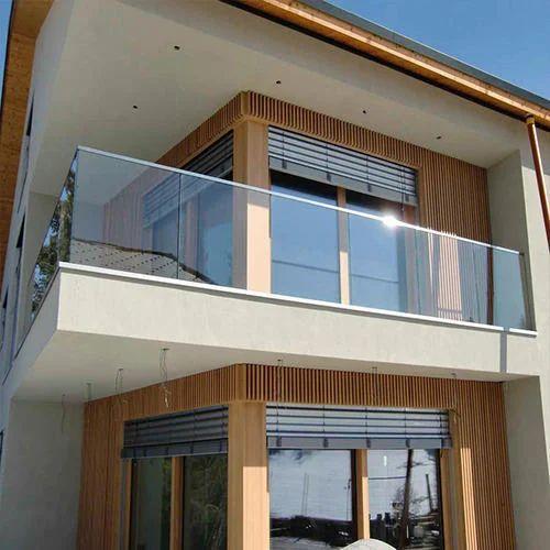 Balcony Glass Railing Bharmal Glass House Manufacturer