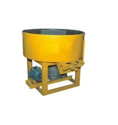 KIC Mild Steel Semi Automatic Pan Mixer Machine
