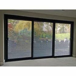 Finished Aluminium Triple Sliding Window, For Residential