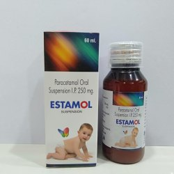 Paracetamol Oral Suspension, 60ml, for Commercial