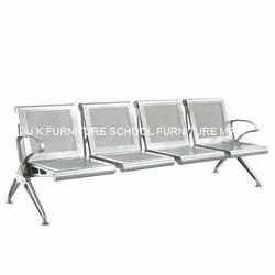 Stainless Steel Waiting Room Chair