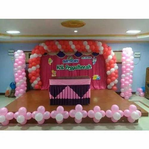 Birthday Decorations Service In Vaysarpadi Chennai