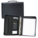 Presentation Leather Ring Binder Folder