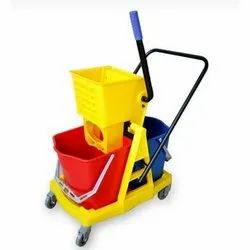 Moping Trolley Double Bucket 34Ltr