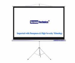 Screen Technics 6' x 8' Tripod Stand Projector Screen