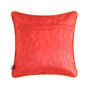 Yellow Taxi Glaze Cotton Cushion Cover
