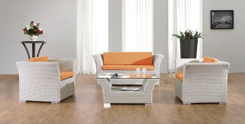 Sensational White Rattan Sofa Set Squirreltailoven Fun Painted Chair Ideas Images Squirreltailovenorg