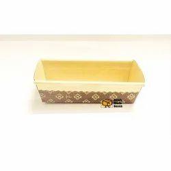 8 Inches Rectangular Baking Box