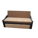 Rectangular Wooden Sofa Bed, Size/dimension: 6x2.5 Feet, For Home, Office