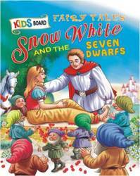 Kids Board Fairy Tales Snow White & The Seven Dwarfs Book