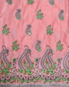 African George Embroidery Work Fabric