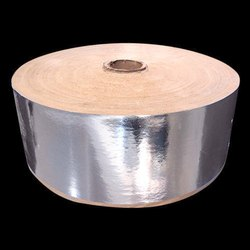 Plain Silver Paper Roll, GSM: Less than 80 GSM