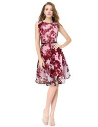 Vincy Fashion Western Georgette Ladies Frock