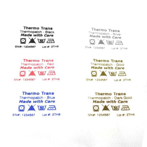 Garment Stickers - Printed Garment Heat Transfer Label Manufacturer