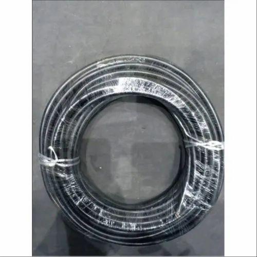 Black 2 Core PVC Round Flexible Electric Cable