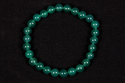 Green Onyx Beaded Rubber Bracelet