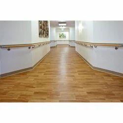 Checks Brown PVC Carpet