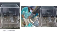 JIYA - Intubation Box-Transparent Aerosol  Box